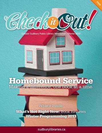 Homebound Service - Greater Sudbury Public Library