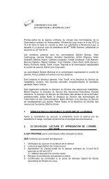 Procès-verbal du 8 mai 2012, ajourné au 22 mai 2012 - Commission ...