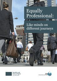 Equally Professional: - Chartered Management Institute