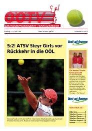 OÖTV-News Ausgabe 5/2009 - TSV St.Georgen