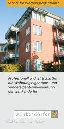 durch umfassende Pflege und effektive Verwaltung Ihrer Immobilie