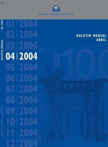 B.Mensal BCE - Abril 2004
