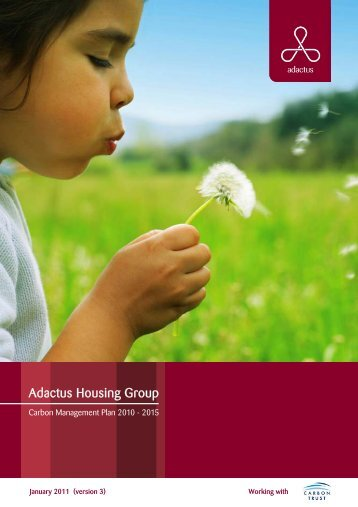 Carbon Management Plan - Adactus Housing Group Ltd