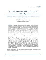 Threat-Driven Approach whitepaper