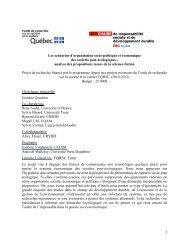 FQRSC Futur - Chaire de responsabilité sociale et de ...