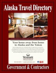 Alaska Travel Directory for Government and Contractors.