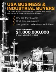 USA Business & Industrial Buyers
