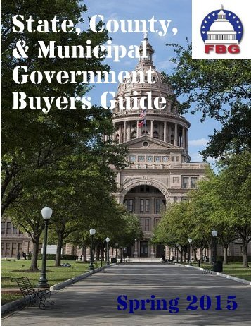 State County Municipal Government Buyers Guide