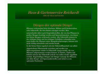 Mulchen - Gartenservice Andreas Perner