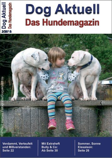 Dog Aktuell Das Hundemagazin Ausgabe 2-2015