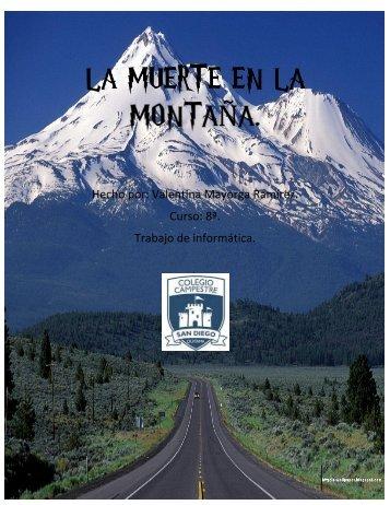 La Muerte En La Montaña.