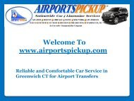 Comfortable Car Service in Greenwich CT