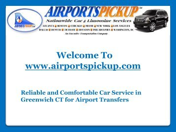 Car Hire Greenwich Ct
