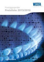 Preisliste 2015/2016