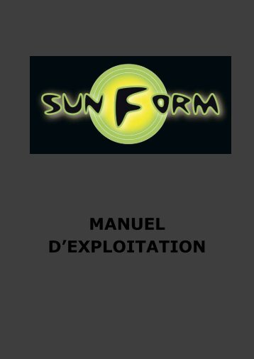 Manuel d\'Exploitation
