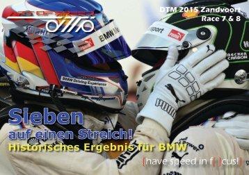 {have speed in f[ ]cus!} DTM 04  Zandvoort - Race 7 & 8