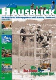 Hausblick 02 01 - Arnsberger Wohnungsbaugenossenschaft eG