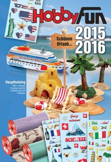 HobbyFun - Hauptkatalog 2015-2016