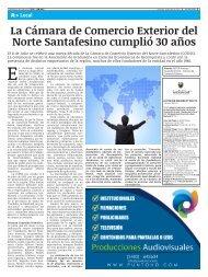 La Cámara de Comercio Exterior del Norte Santafesino cumplió 30 años