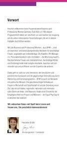 Veranstaltungsprogramm BPW Köln 2. Halbjahr 2015  - Seite 3