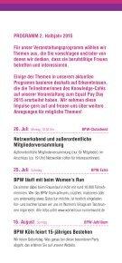 Veranstaltungsprogramm BPW Köln 2. Halbjahr 2015  - Seite 4
