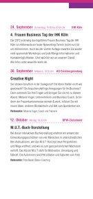 Veranstaltungsprogramm BPW Köln 2. Halbjahr 2015  - Seite 6