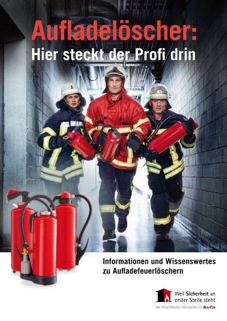 PRO-Aufladefeuerlöscher