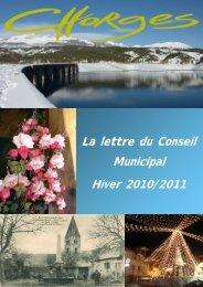 bulletin municipal annuel 2010/2011 - Mairie de Chorges