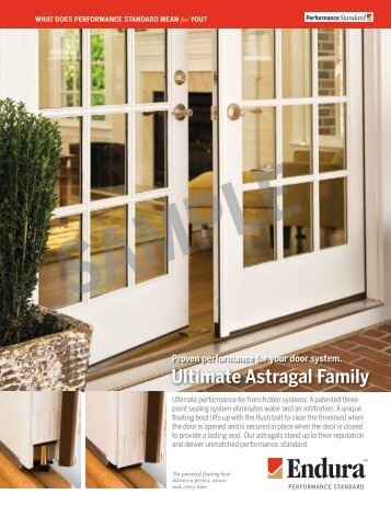 Ultimate astragal inswing for Choicedek warranty