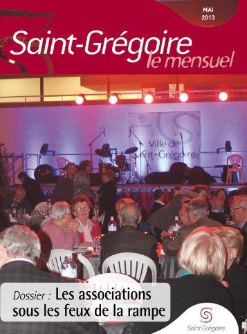 Saint-Grégoire, le Mensuel Mai 2013