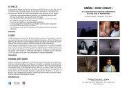 CINéMA « HORS-CIRCUIT » - Khiasma