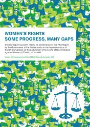 Women's Rights – some progress, many gaps - Emancipatie.nl