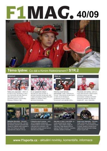 40/09 - F1sports.cz