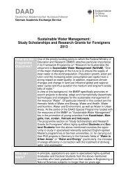 Sustainable Water Management - an der Universität Duisburg-Essen