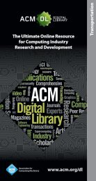 Transportation - The ACM Digital Library