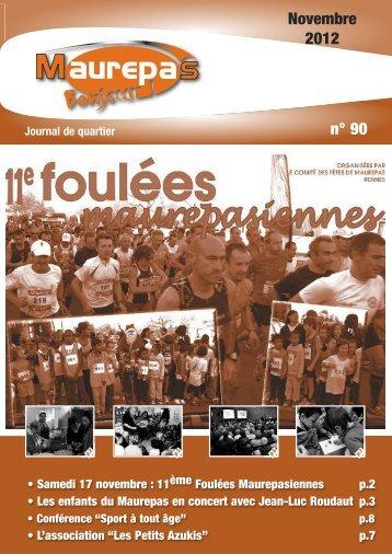 Maurepas Bonjour n° 90 - Novembre 2012 - Ville de Rennes