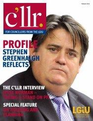 Cllr Magazine Feb 2012 - LGiU