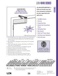 LCN 4040 SERIES - Ingersoll Rand