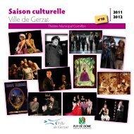 Saison culturelle Ville de Gerzat - Cezam Auvergne