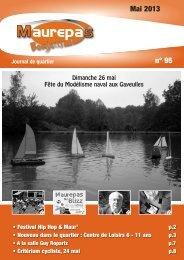 Maurepas Bonjour n° 95 - mai 2013 - Ville de Rennes