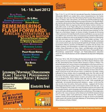 BIGSAS Festival Afrikanischer und Afrikanisch-Diasporischer ...