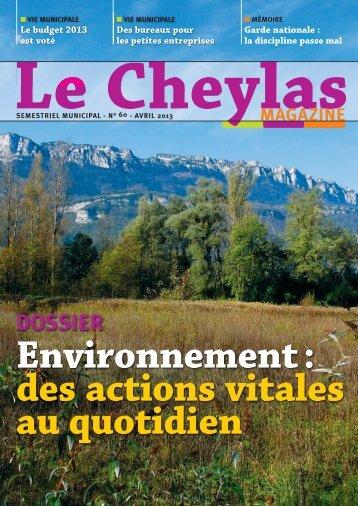 Télécharger le fichier PDF - Le Cheylas