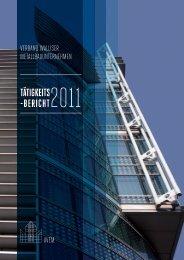 Tätigkeitsbericht 2011