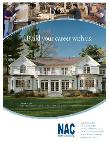 North Atlantic Corp. Recruiting Brochure
