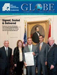 Signed, Sealed & Delivered - Self Storage Association Globe