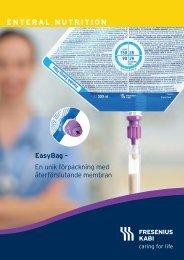 EasyBag - förpackning och innehåll i fokus - Fresenius Kabi