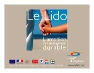 projet d'aménagement du lido de Sète à Marseillan, présenté par la ...