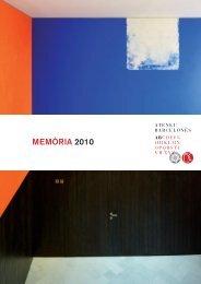MEMÒRIA 2010 - Ateneu Barcelonès
