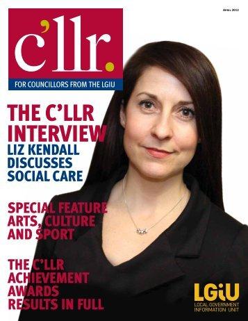 Cllr April 2012 - LGiU