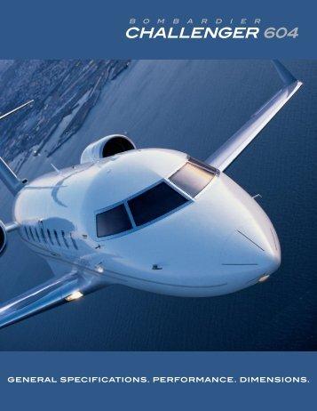 Challenger 604 Factsheet - Bombardier